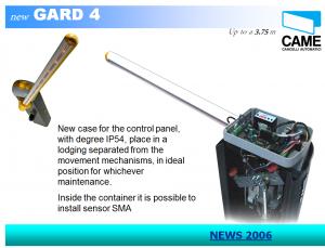 Gard 4.1 - CAME (Italy)