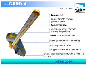 Gard 4.2 - CAME (Italy)